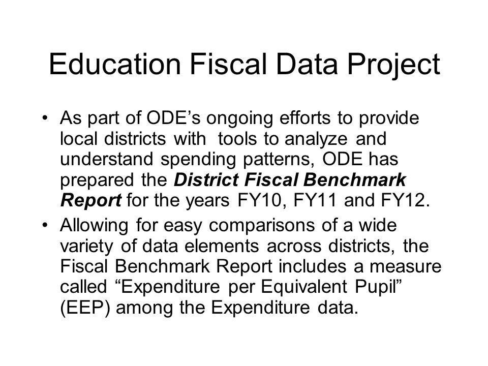 Education Fiscal Data Project