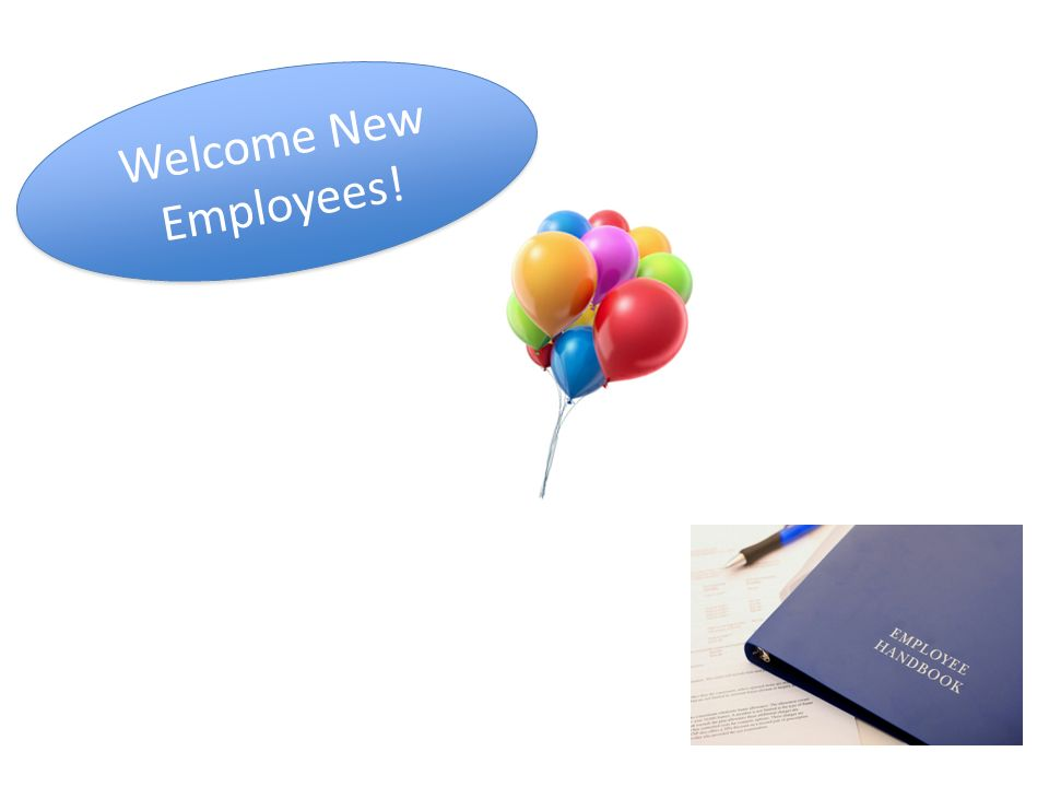 Welcome New Employees!