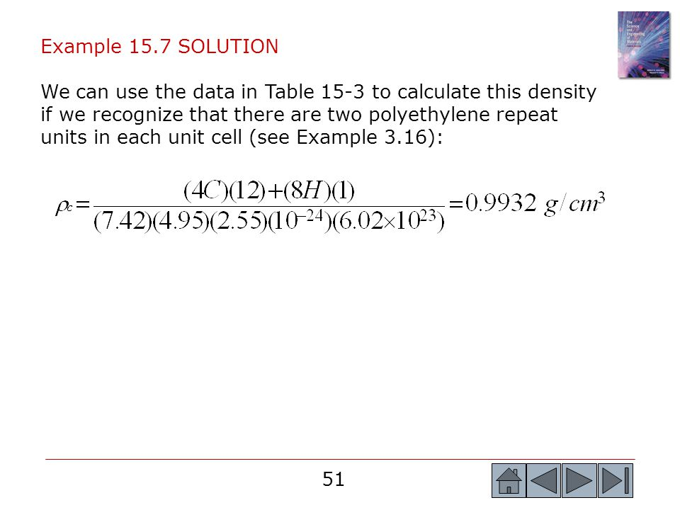 Example 15.7 SOLUTION