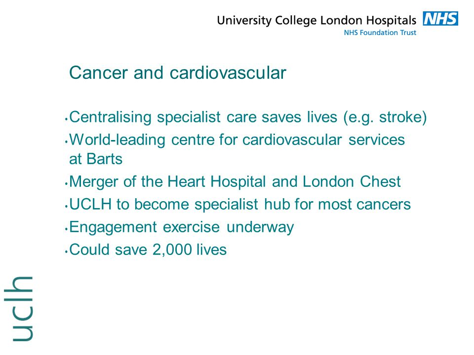 Cancer and cardiovascular