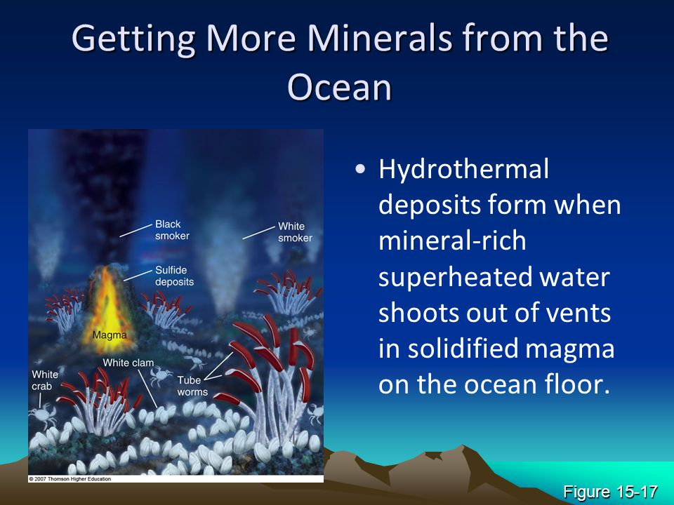 Getting More Minerals from the Ocean