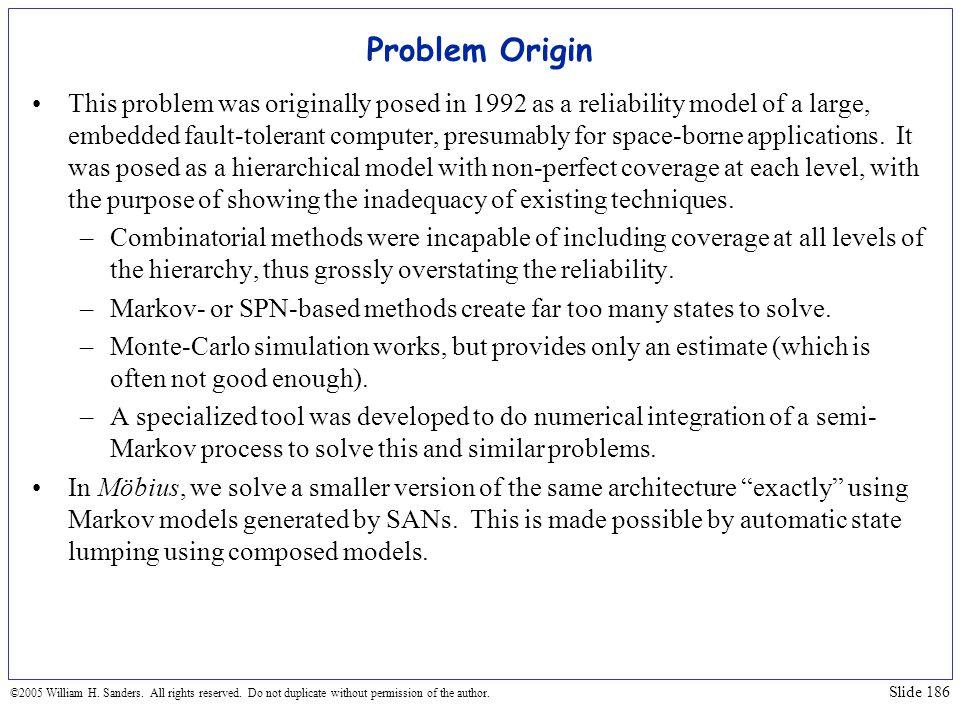 Problem Origin