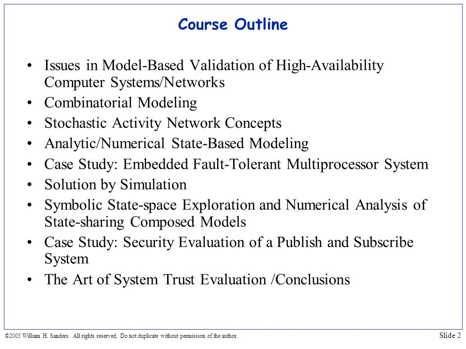 Combinatorial Modeling Stochastic Activity Network Concepts