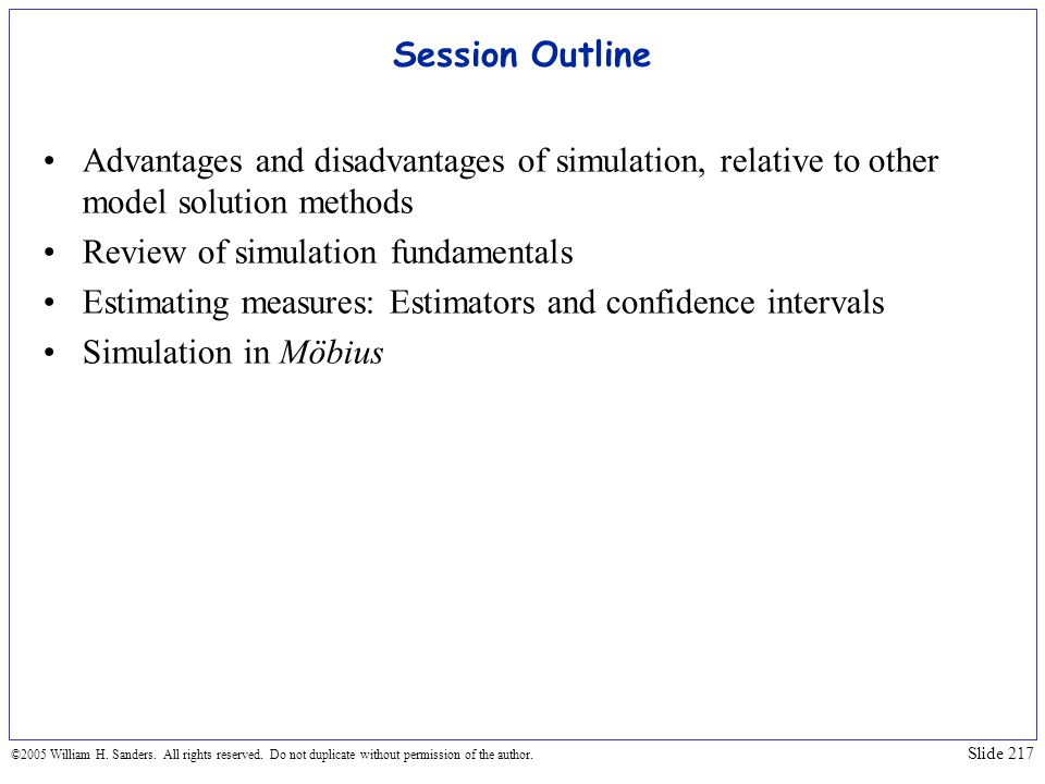 Review of simulation fundamentals