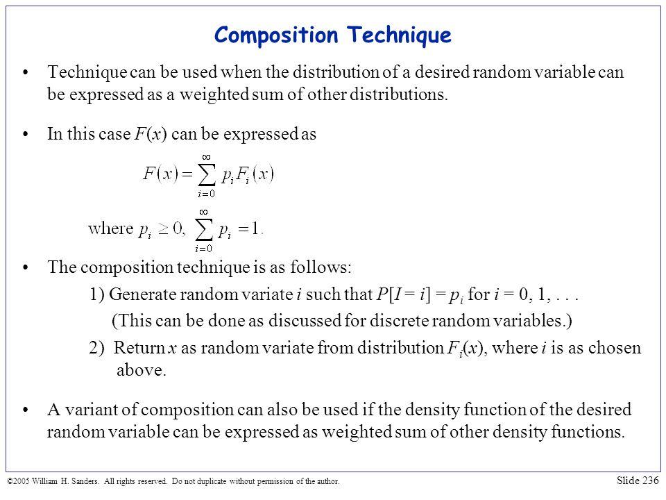 Composition Technique