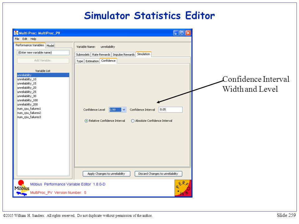 Simulator Statistics Editor