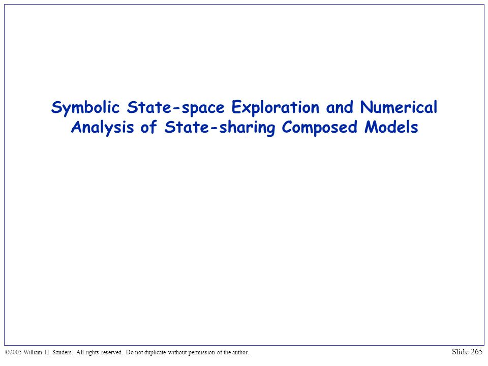 Symbolic State-space Exploration and Numerical Analysis of State-sharing Composed Models