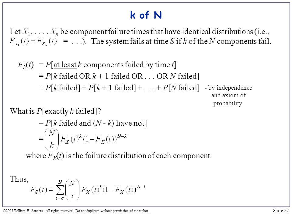 k of N