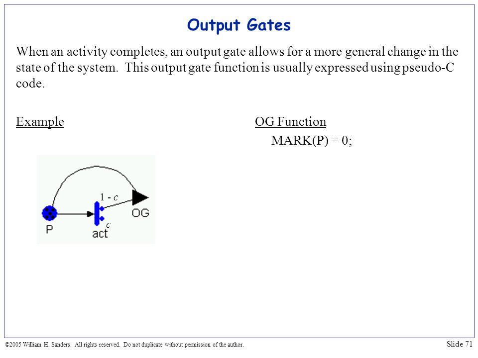 Output Gates