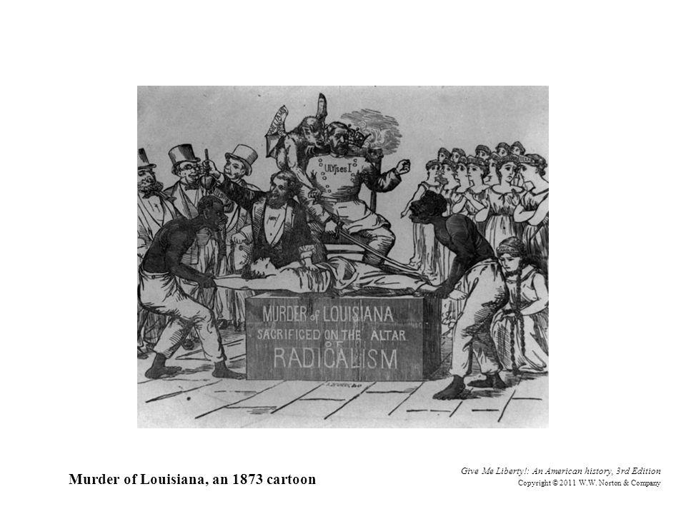 Murder of Louisiana, an 1873 cartoon