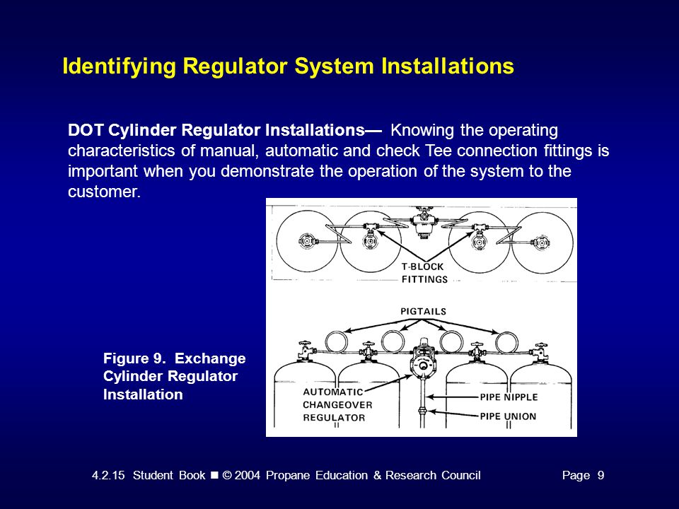 Identifying Regulator System Installations