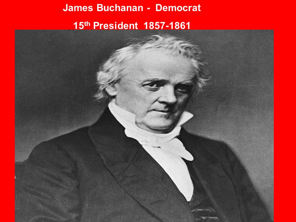 James Buchanan - Democrat