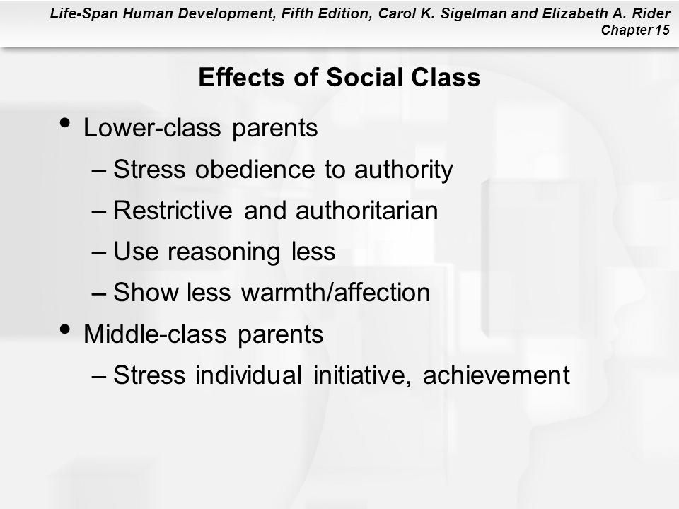 Effects of Social Class