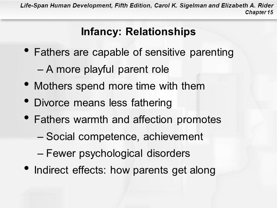 Infancy: Relationships
