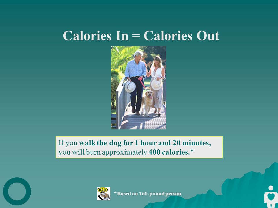 Calories In = Calories Out