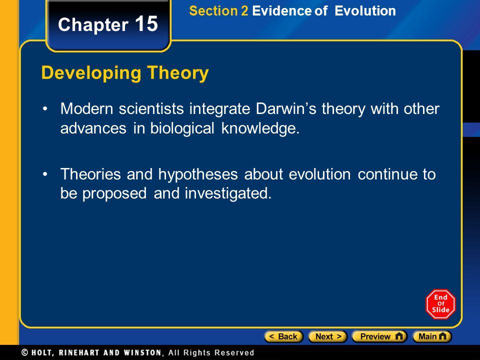 Chapter 15 Developing Theory
