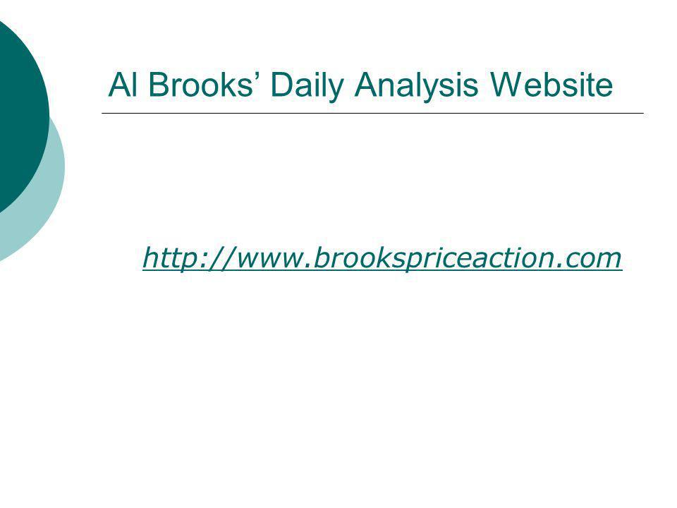 Al Brooks' Daily Analysis Website