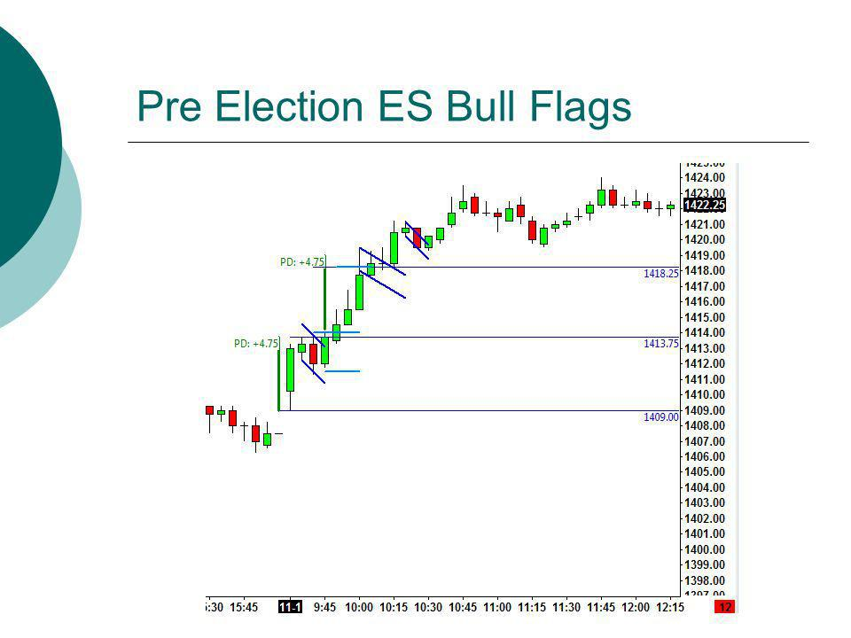 Pre Election ES Bull Flags