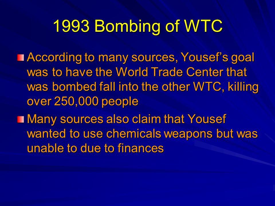 1993 Bombing of WTC