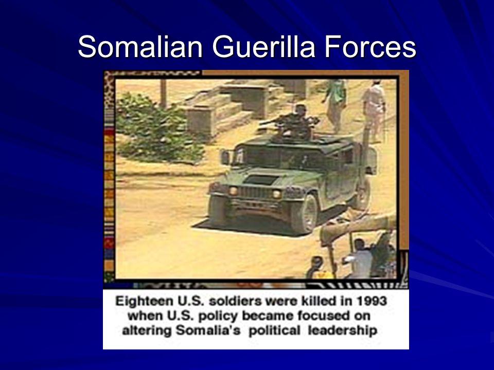 Somalian Guerilla Forces