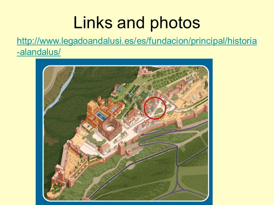 Links and photos http://www.legadoandalusi.es/es/fundacion/principal/historia-alandalus/