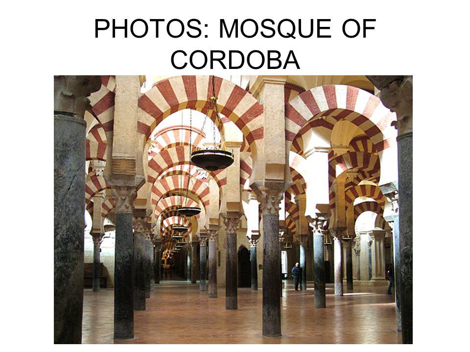 PHOTOS: MOSQUE OF CORDOBA