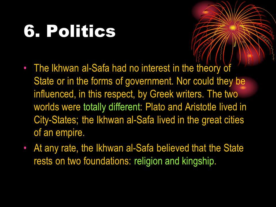 6. Politics