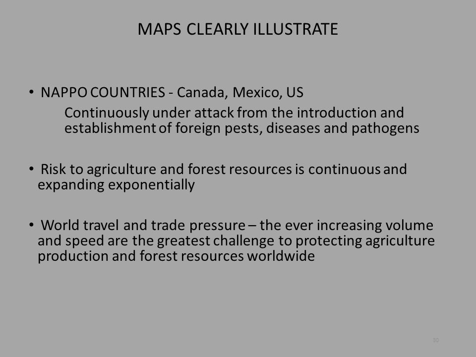 MAPS CLEARLY ILLUSTRATE