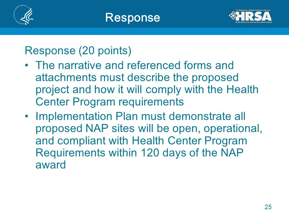 Response Response (20 points)