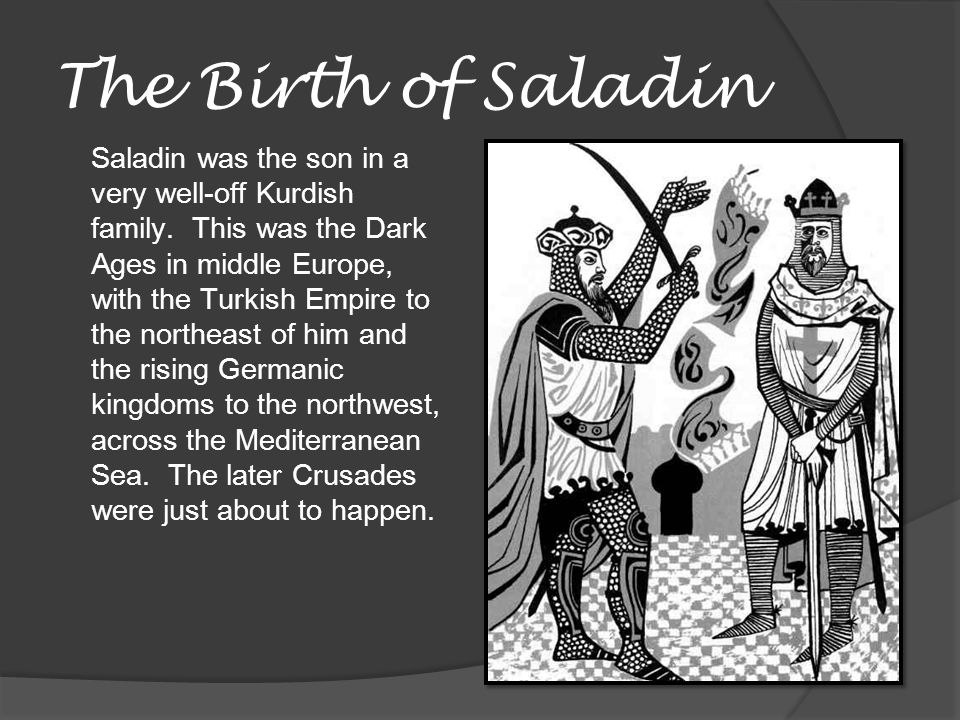 The Birth of Saladin