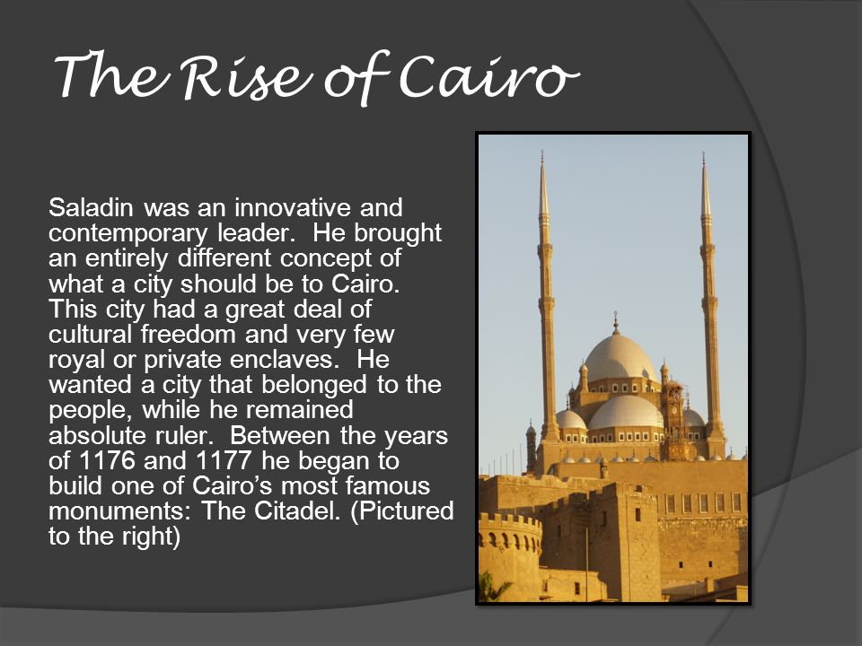 The Rise of Cairo