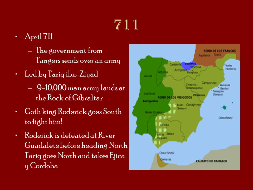 711 April 711 The government from Tangers sends over an army