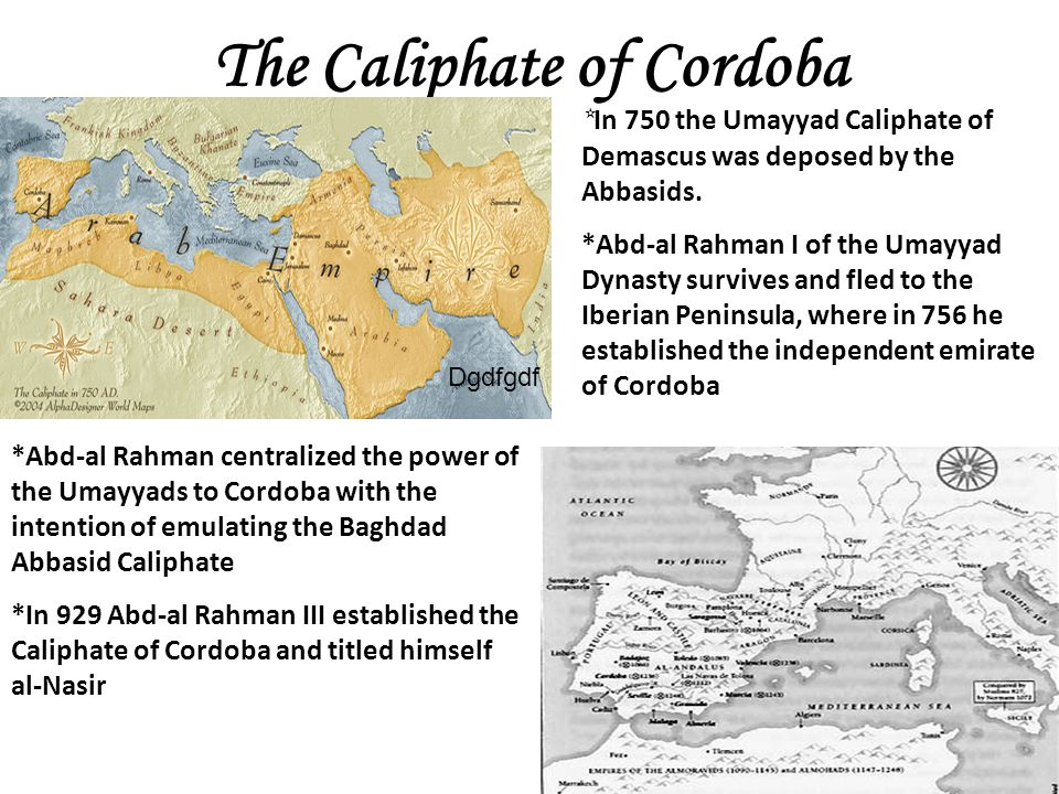 The Caliphate of Cordoba