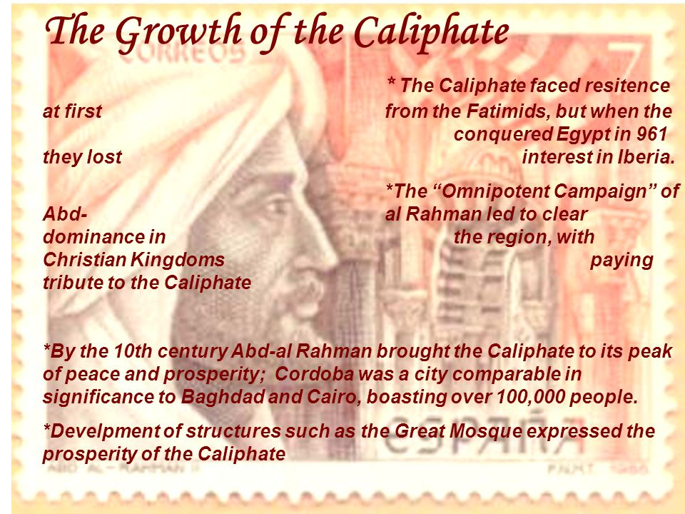The Growth of the Caliphate