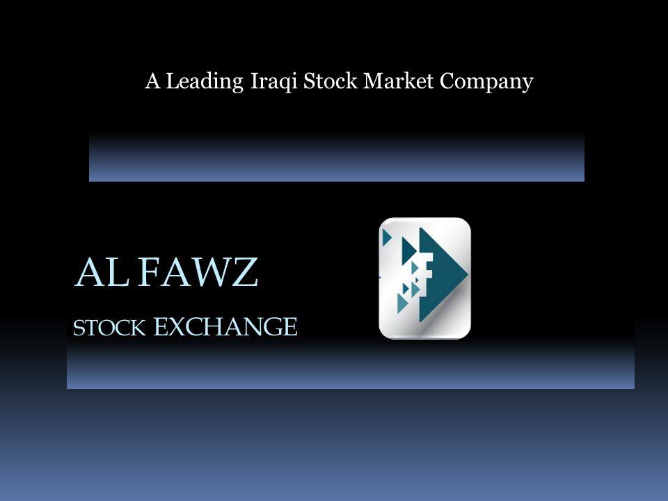 A Leading Iraqi Stock Market Company