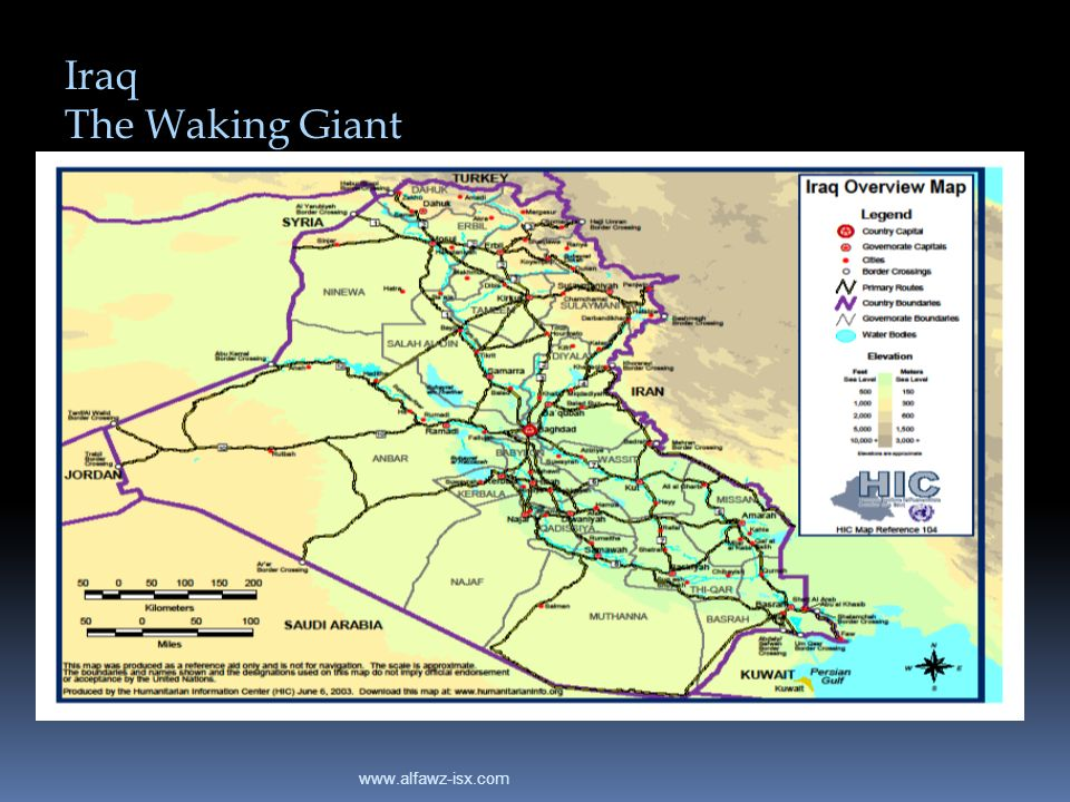 Iraq The Waking Giant