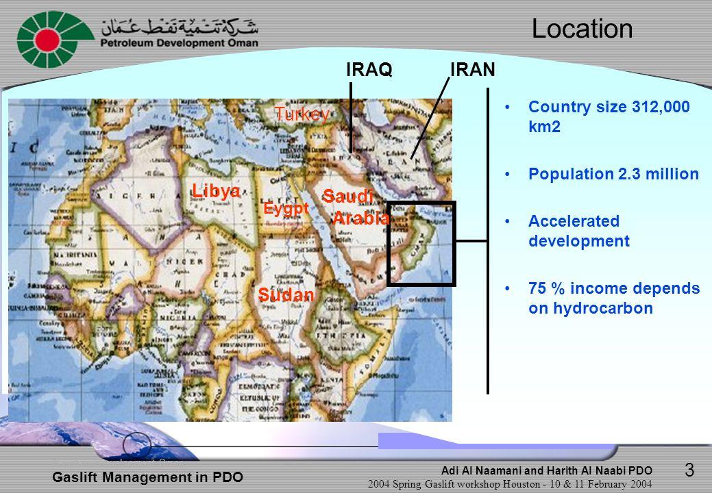 Location IRAQ IRAN Turkey Libya Saudi Arabia Sudan 3