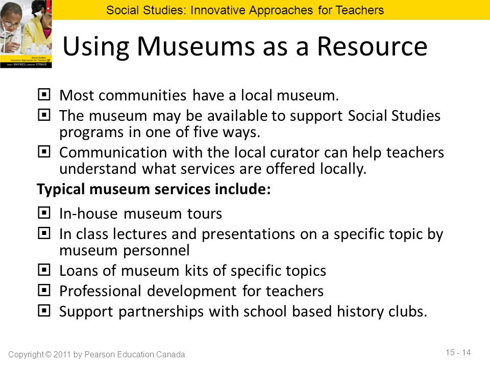 Using Museums as a Resource