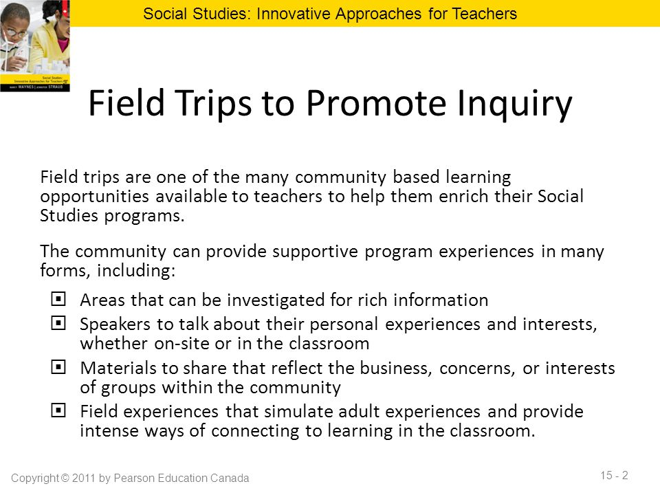 Field Trips to Promote Inquiry