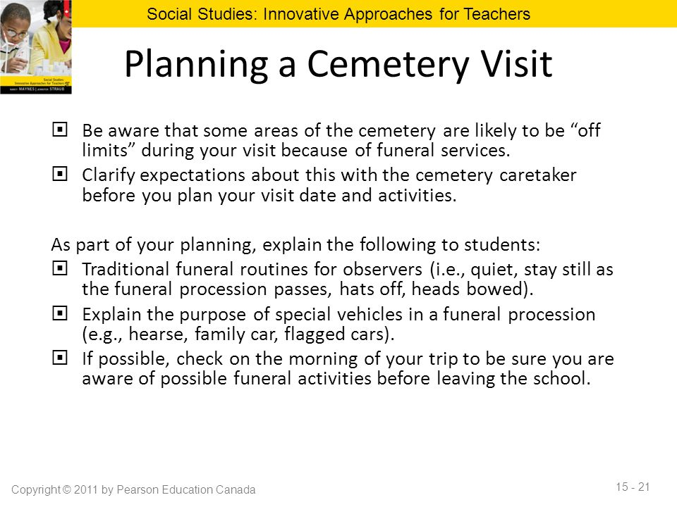 Planning a Cemetery Visit