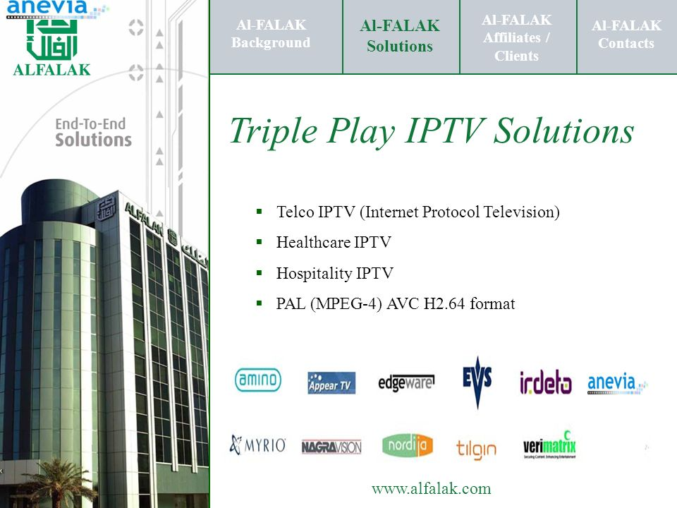 Triple Play IPTV Solutions