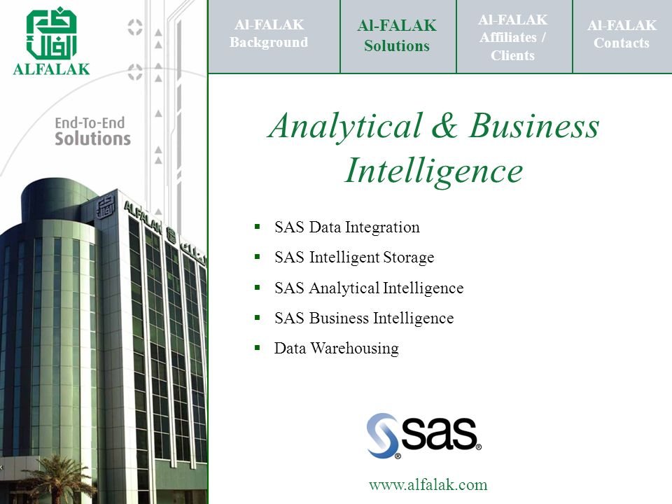 Analytical & Business Intelligence