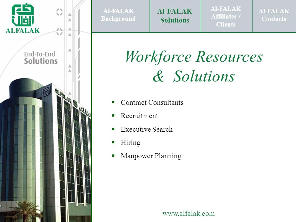 Workforce Resources & Solutions