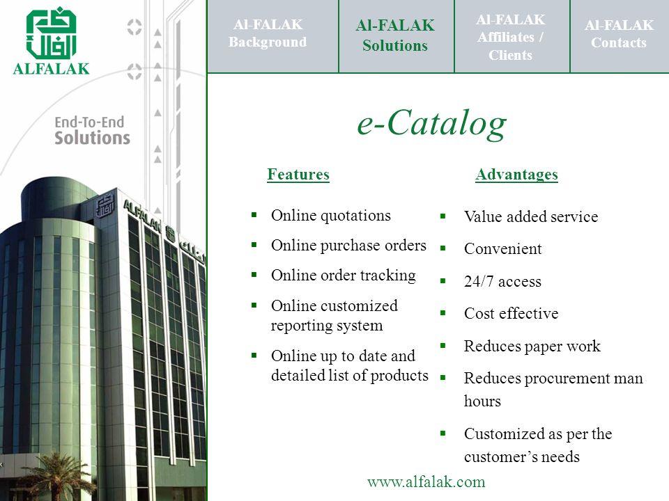 Al-FALAK Affiliates / Clients