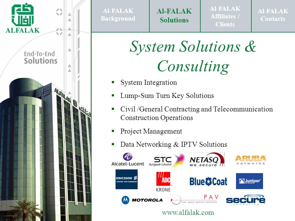 System Solutions & Consulting