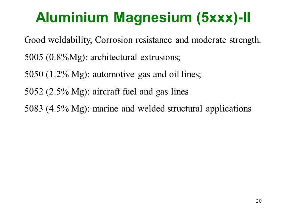 Aluminium Magnesium (5xxx)-II