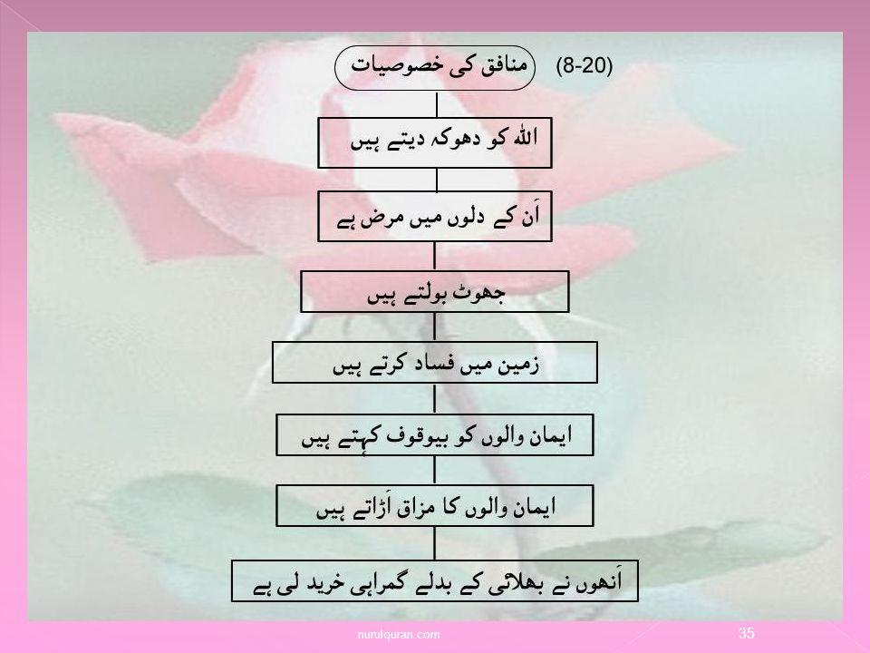 enlighten the heart with the nur of alquran