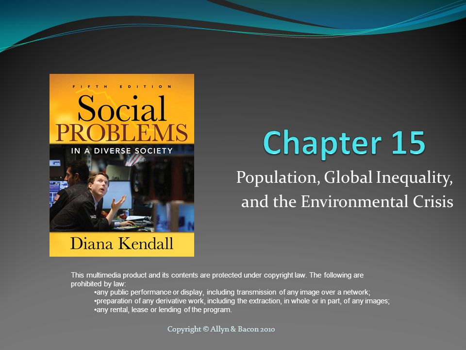 Population, Global Inequality, and the Environmental Crisis