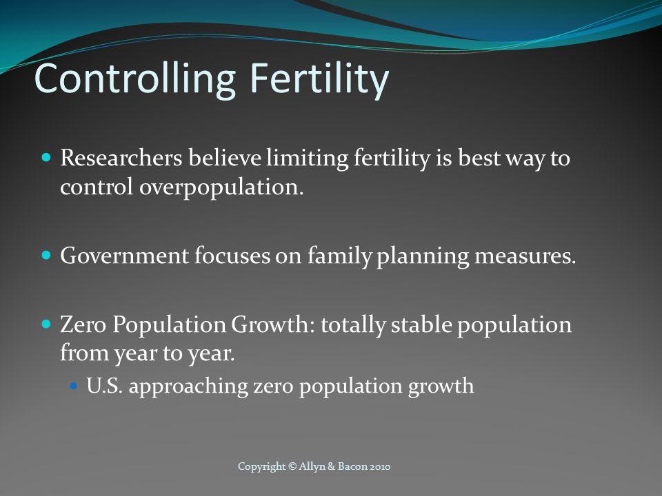 Controlling Fertility