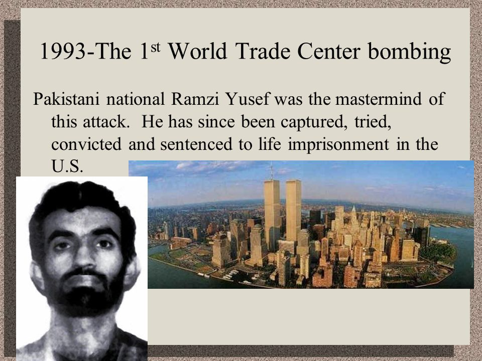 1993-The 1st World Trade Center bombing